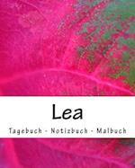 Lea - Tagebuch - Notizbuch - Malbuch