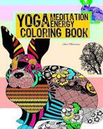 Meditation Yoga Energy Coloring Book