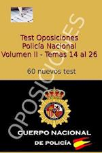 Test Oposiciones Policia Nacional II