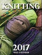 Knitting 2017 Wall Calendar