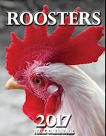 Roosters 2017 Wall Calendar