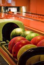 Colorful Tenpin Bowling Balls in a Bowling Alley Journal