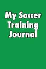 My Soccer Training Journal