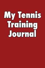 My Tennis Training Journal