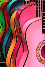 Colorful Acoustic Guitars Journal