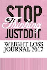 Weight Loss Journal 2017