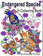 Endangered Species Colouring Book
