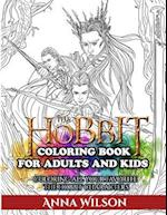 The Hobbit Coloring Book for Adults and Kids