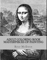 Adult Coloring Book - Masterpieces of Painting