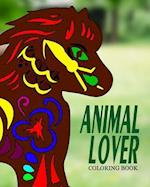 Animal Lover Coloring Book