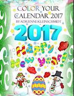 Color Your Calendar 2017!