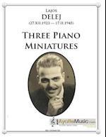 Three Piano Miniatures