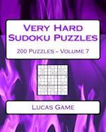 Very Hard Sudoku Puzzles Volume 7