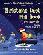 Christmas Duet Fun Book for Recorder