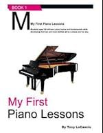 My First Piano Lessons