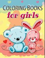 Cute Coloring Book for Girls