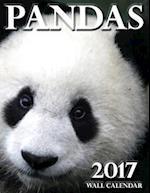 Pandas 2017 Wall Calendar