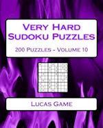 Very Hard Sudoku Puzzles Volume 10