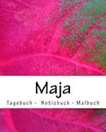 Maja - Tagebuch - Notizbuch - Malbuch