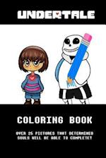 Undertale Coloring Book