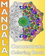 Concentrate Mandala Coloring