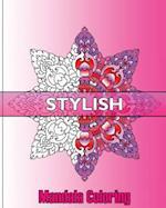 Stylish Mandala Coloring