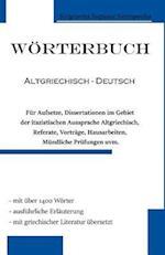 Worterbuch Altgriechisch - Deutsch