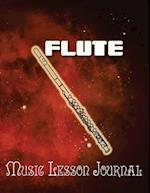 Flute Music Lesson Journal