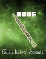 Oboe Music Lesson Journal