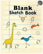 Blank Sketch Book by T.Michelle