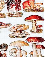 Journaling Notebook (Mushrooms Version 1, 8.5