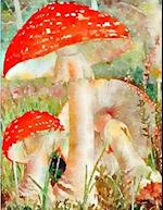 Journaling Notebook (Mushrooms Version 2, 8.5