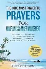 Prayer the 1000 Most Powerful Prayers for Mindfulness & Anger Management