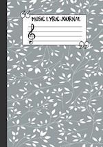 Music Lyric Journal