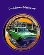 Ute Musters Made Easy