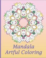 Artful Mandala Coloring