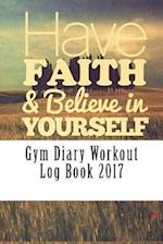 Gym Diary Workout Log Book 2017