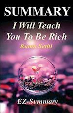 Summary - I Will Teach You to Be Rich
