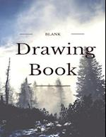 Blank Drawing Book, Large Sketchbook,150 Pages, 8.5