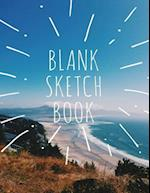 Blank Drawing Book, Blank Sketchbook, Extra Large-Made 8.5x11 with Standard White Paper-Best for Crayons, Colored Pencils,