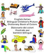 English-Italian Bilingual Children's Picture Dictionary Book of Colors Dizionario Dei Colori Illustrato Per Bambini Bilingue