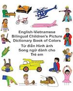 English-Vietnamese Bilingual Children's Picture Dictionary Book of Colors