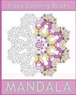 Enjoy Mandala Coloring