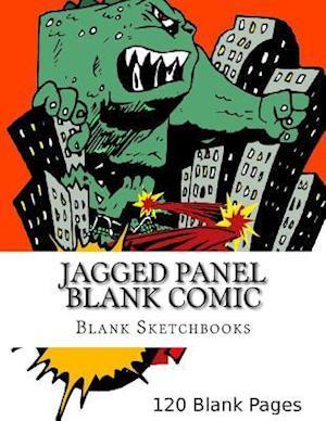 Jagged Panel Blank Comic