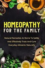 Homeopathy for the Family