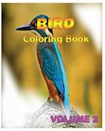 Bird Coloring Books Vol. 2 for Relaxation Meditation Blessing