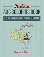 Italian ABC Coloring Book