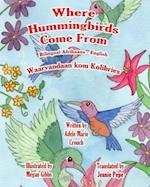 Where Hummingbirds Come from Bilingual Afrikaans English