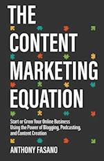 The Content Marketing Equation