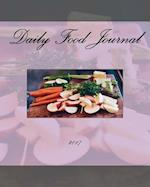 Daily Food Journal 2017